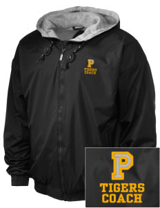 Platina Elementary School Tigers Embroidered Holloway Men's Hooded Jacket