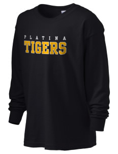 Platina Elementary School Tigers Kid's 6.1 oz Long Sleeve Ultra Cotton T-Shirt