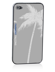 Fairmont Elementary School Falcons Apple iPhone 4/4S Skin