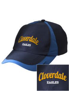 Cloverdale High School Eagles Embroidered Nike Golf Colorblock Cap