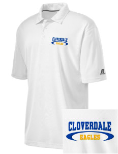 Cloverdale High School Eagles Embroidered Russell Coaches Core Polo Shirt