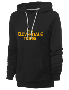 Cloverdale High School Eagles Women's Core Fleece Hooded Sweatshirt