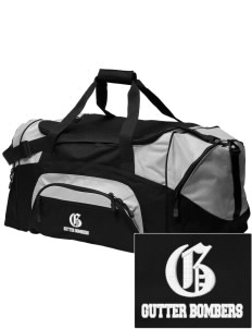 Bellingham Rec League Gutter Bombers Embroidered Colorblock Duffel Bag