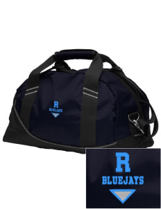 Ridgway School Bluejays Embroidered OGIO Half Dome Duffel