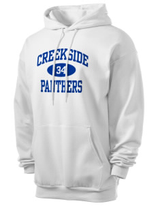 Creekside Middle School Panthers Men's 7.8 oz Lightweight Hooded Sweatshirt
