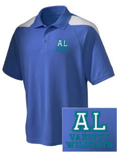 April Lane Elementary School Wildcats Embroidered Holloway Men's Frequency Performance Pique Polo