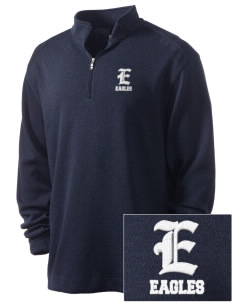 Elkins Elementary School Eagles Embroidered Nike Men's Golf Heather Cover Up