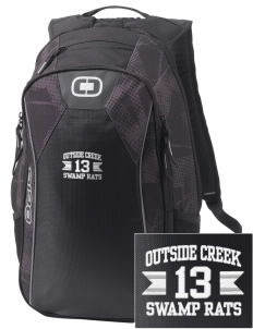 Outside Creek Elementary School Swamp Rats Embroidered OGIO Marshall Backpack