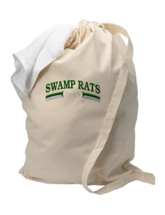 Outside Creek Elementary School Swamp Rats Laundry Bag
