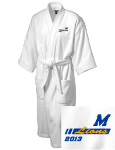 Montalvo Elementary School Lions Embroidered Terry Velour Robe