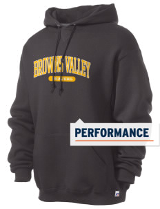 Browns Valley Elementary School Beavers Russell Men's Dri-Power Hooded Sweatshirt