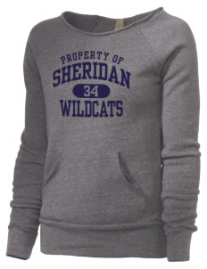 Sheridan Middle School Wildcats Alternative Women's Maniac Sweatshirt