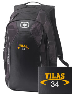 Vilas School Elementary Broncos - High School Raiders Embroidered OGIO Marshall Backpack