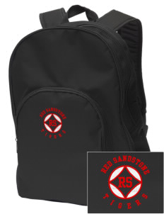 Red Sandstone Elementary School Tigers Embroidered Value Backpack