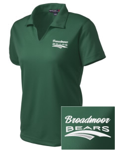 Broadmoor Elementary School Bears Embroidered Women's Dri Mesh Polo