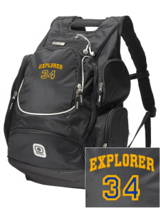 Explorer Elementary School Hawks  Embroidered OGIO Bounty Hunter Backpack