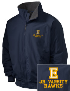 Explorer Elementary School Hawks Embroidered Holloway Men's Tall Jacket