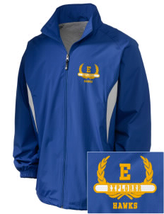 Explorer Elementary School Hawks Embroidered Holloway Men's Full-Zip Jacket