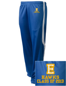 Explorer Elementary School Hawks Embroidered Holloway Men's Tricotex Warm Up Pants