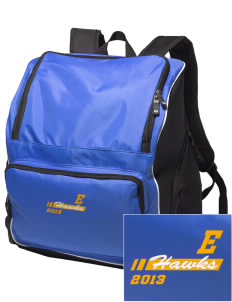 Explorer Elementary School Hawks Embroidered Holloway Backpack