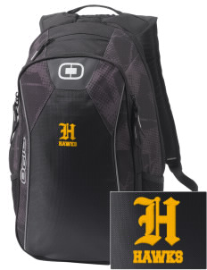 Explorer Elementary School Hawks Embroidered OGIO Marshall Backpack