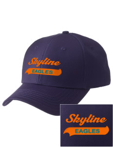 Skyline Elementary School Eagles  Embroidered New Era Adjustable Structured Cap