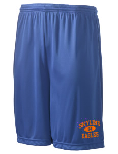 "Skyline Elementary School Eagles Men's Competitor Short, 9"" Inseam"