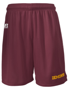 "Golden High School Demons  Russell Men's Mesh Shorts, 7"" Inseam"