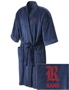 Merino Elementary School Rams Embroidered Terry Velour Robe