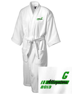 Goodwin Elementary School Alligators Embroidered Terry Velour Robe