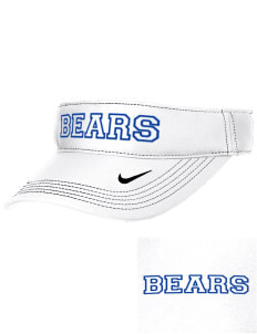 Elizabeth M Bennet Middle School Bears Embroidered Nike Golf Dri-Fit Swoosh Visor