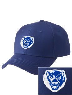 John J Jennings Elementary School Bears  Embroidered New Era Adjustable Structured Cap