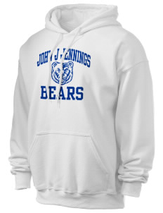 John J Jennings Elementary School Bears Ultra Blend 50/50 Hooded Sweatshirt