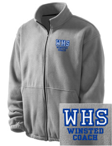 Winchester Alternative High School Winsted Embroidered Men's Fleece Jacket