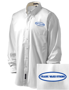 Frank Ward Strong Middle School Spartans Embroidered Men's Easy-Care Shirt