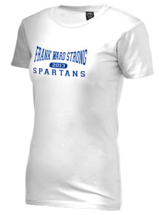 Frank Ward Strong Middle School Spartans Alternative Women's Basic Crew T-Shirt