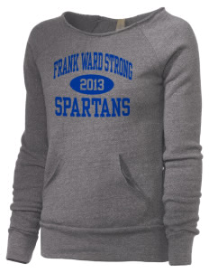 Frank Ward Strong Middle School Spartans Alternative Women's Maniac Sweatshirt