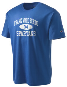 Frank Ward Strong Middle School Spartans Champion Men's Tagless T-Shirt