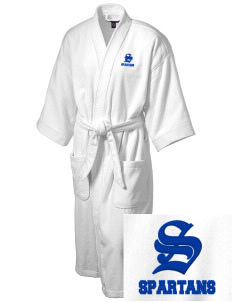 Frank Ward Strong Middle School Spartans Embroidered Terry Velour Robe