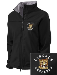 Lincoln Middle School Leopards Embroidered Women's Glacier Soft Shell Jacket