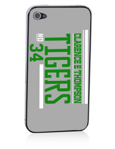 Clarence E Thompson Elementary School Tigers Apple iPhone 4/4S Skin