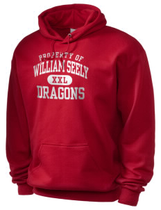 William Seely Elementary School Dragons Holloway Men's 50/50 Hooded Sweatshirt
