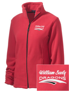 William Seely Elementary School Dragons Embroidered Women's Wintercept Fleece Full-Zip Jacket