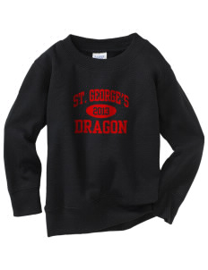St. George's School Dragon Toddler Crewneck Sweatshirt