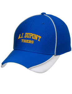 Alexis I. duPont High School Tigers Embroidered New Era Contrast Piped Performance Cap