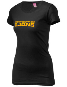 McCullough Elementary School Lions  Juniors' Fine Jersey Longer Length T-Shirt