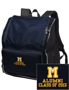McCullough Elementary School Lions Embroidered Holloway Backpack