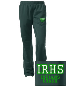 Indian River High School Indians Embroidered Women's Tricot Track Pants