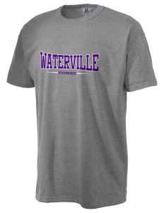 Waterville Junior High School Pumas  Russell Men's NuBlend T-Shirt