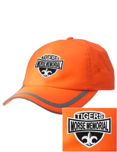Morse Memorial Elementary School Tigers  Embroidered Safety Cap